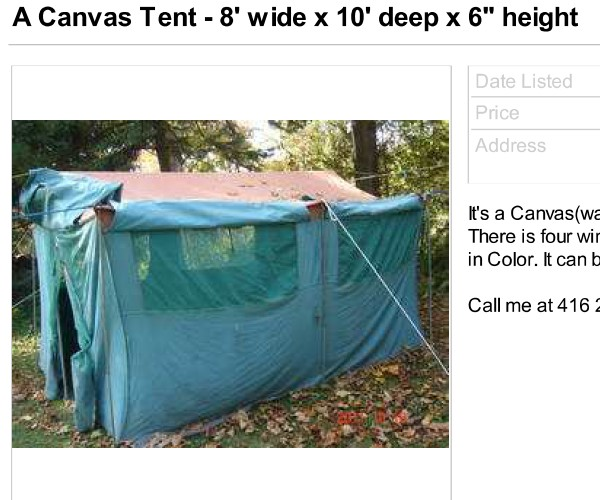 Canvas Tents International Preppers Network