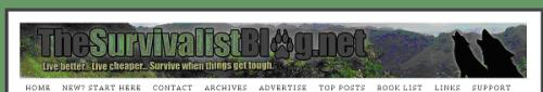 The Survival Blog dot net