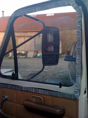 E 350 Ford door with bug screen added